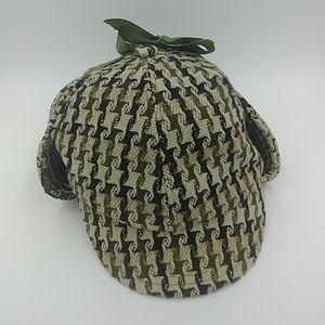 Kangol Neo Tweed Sherlock Holmes Deerstalker Hat